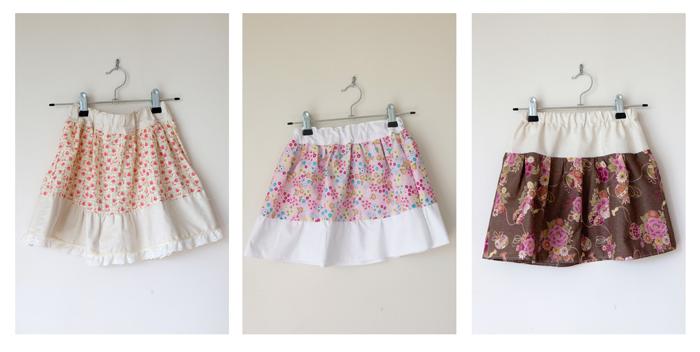 Skirts I've Made