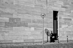 Last Of The Obstacles (gman_garry) Tags: bw germany bavaria 7d streetscenes nuernberg 28mmf18 2011