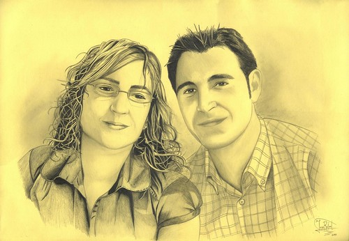 María Isabel y Juan Francisco