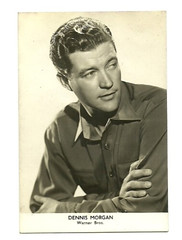 DENNIS MORGAN (addie65) Tags: hollywood dennismorgan fancard deceasedactors