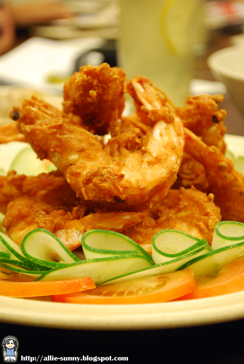 Fried Prawn and Garlic 1