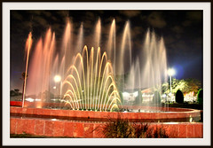 A fountain (SWAIDAN  to Syria  G.W.L.K_) Tags: city tower fountain beautiful canon photo explore kuwait collar liberation eso ahmadi         swaidan   alhmadi