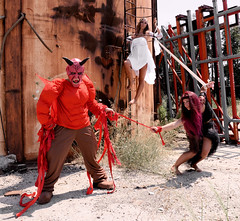 The eternal fight (Angelo Nairod) Tags: red me rebel perfect different escape slim sad candy you sweet circus unique background makeup dancer passion angelo straight tomorrow miao britney rollingstones soe bau dandy dorian palloncini otw thefirst bej abigfave platinumphoto impressedbeauty theunforgettablepictures nairod angelonairod dragondaggerphoto