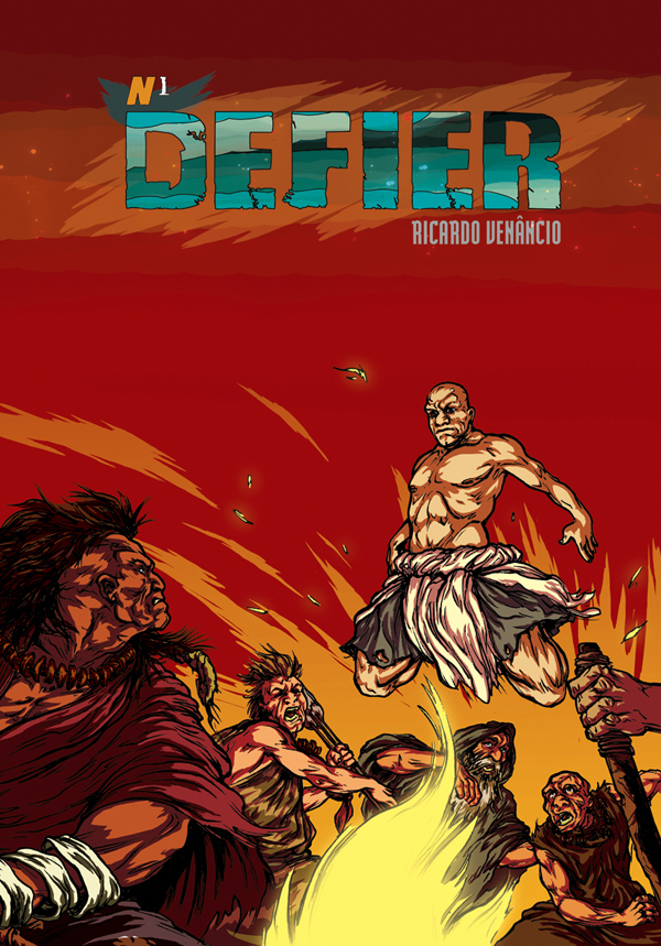 Defier #1 cover