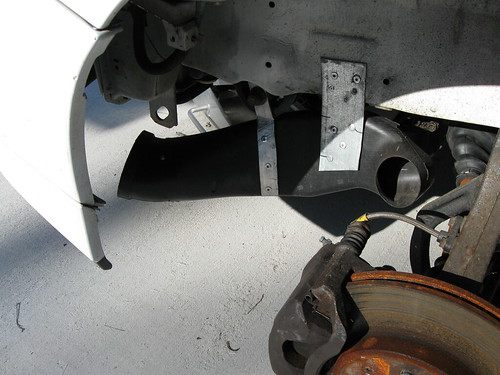 My Z06 Brake Ducts Super Cheap Honda Tech Honda