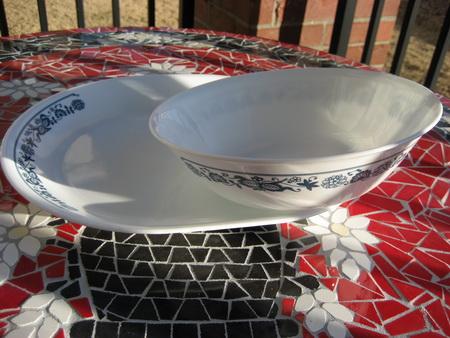 Corelle Old Town Platter & Bowl