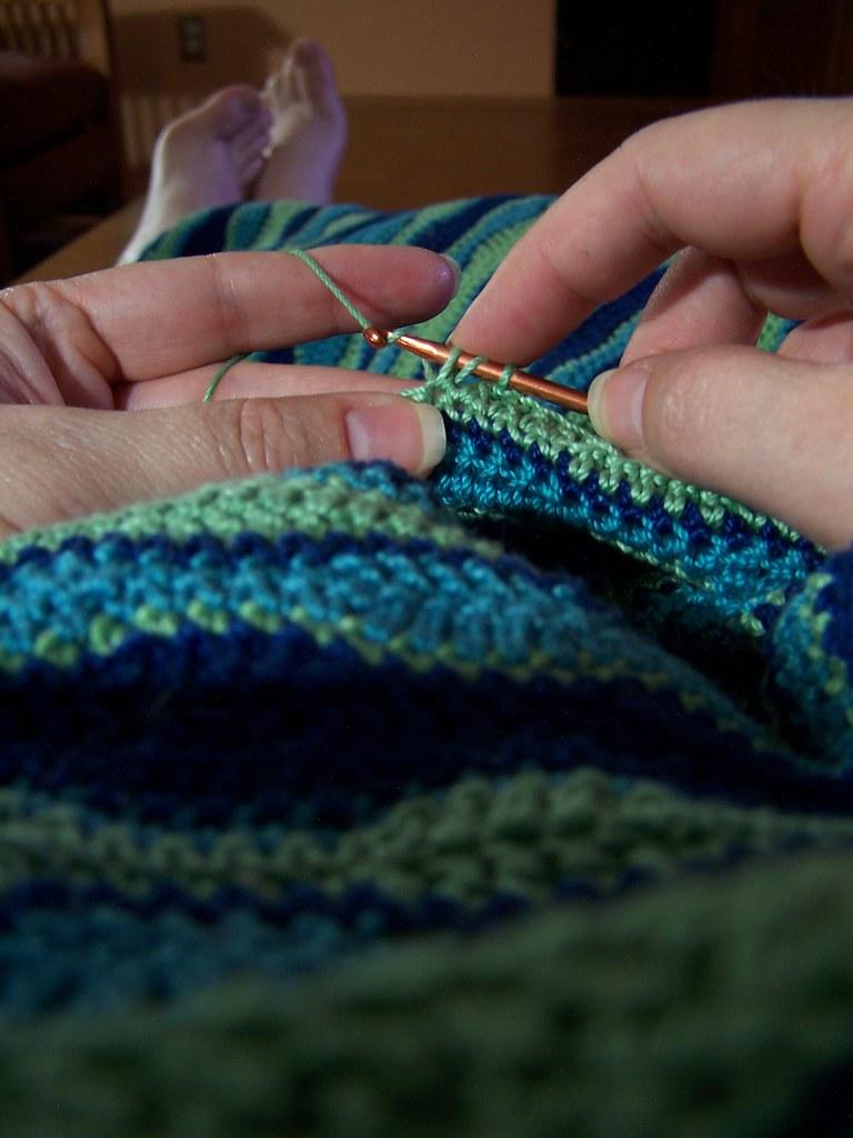 2009 day 20: Crochet forever