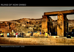 Ruins of Kom Ombo (CrazyNotion (wandering and wondering)) Tags: temple ruins egypt aswan komombo supershot bensharif goldstaraward