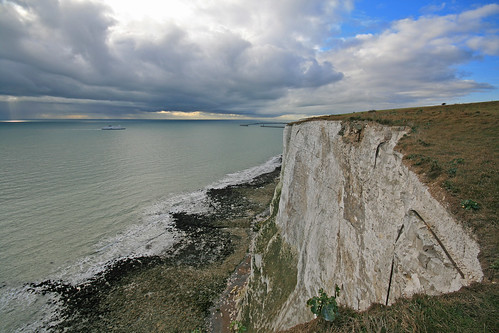 Dover; the white cliffs
