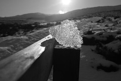 ice in sun (sskelman) Tags: uk sun mountain snow weather scotland perthshire cairngorms munro schiehallion