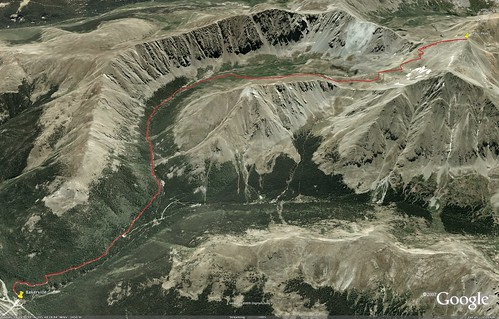 Grays Peak Route
