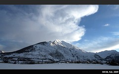 The Way I Am... (LilFr38) Tags: winter sky cloud mountain snow france montagne hiver ciel neige nuage canonef1740mmf4lusm ancelle staind hautesalpes champsaur thewayiam canoneos400drebelxti colorphotoaward lilfr38 flickrlovers