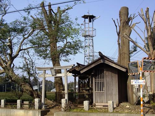 南永井大岾の火の見櫓