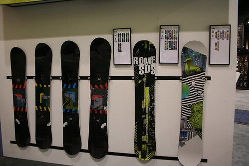 A sampling of the Rome boards. The Design, Graft and Slash from left to right.
