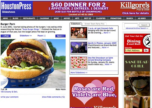Houston Press Local Ads Served Nationally