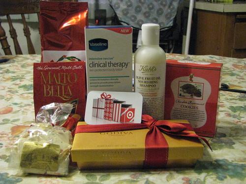 My Vaseline Gift Basket...