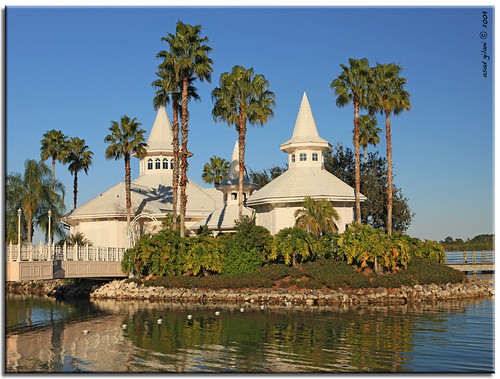 Wedding Pavilion at Disney World Resort