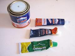 Mexendo com couro: Colas de contato