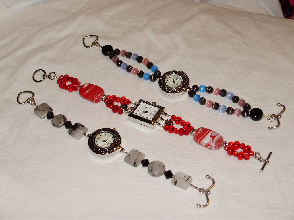 Trio Beaded Watches