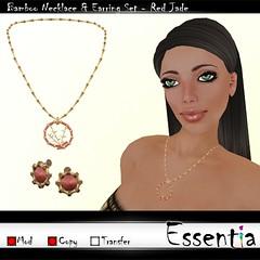 Essentia Bamboo Set Red Jade