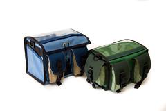 Small + Mini (monsterpartyhat) Tags: bag handmade rando front handlebar custom randonneur handlebarbag zugster randobag