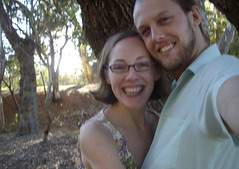 Warm fuzzies & duckpond memories (danimations) Tags: park trees summer portrait selfportrait love smile smiling gum happy couple warm soft happiness australia fuzzies kensingtonpark