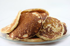Cornmeal Pancakes for Pancake Day