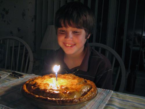 Edmund is 12!