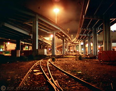 Invisible Sun (jrtce1) Tags: sanfrancisco urban art abandoned night spiral photography photo industrial bridges forgotten postindustrial railroadtracks urbanphotography industrialdecay aplusphoto jrtce1