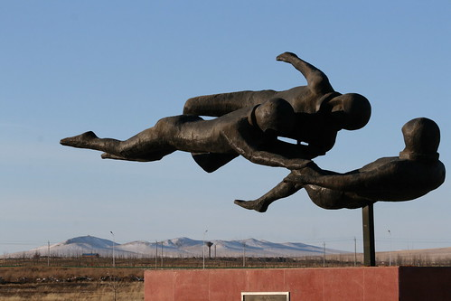 Manzhouli Socialist Realism Sculpture Garden | Flickr - Photo Sharing!