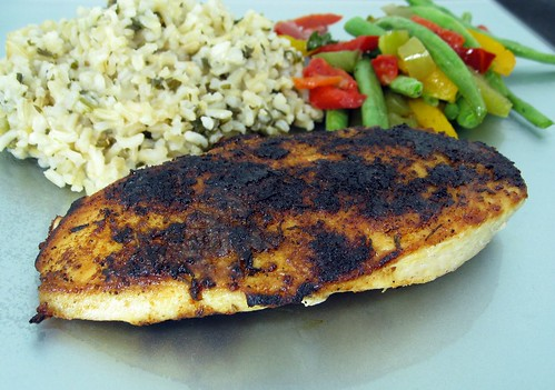 Blackened Chicken – Elly Says Opa!