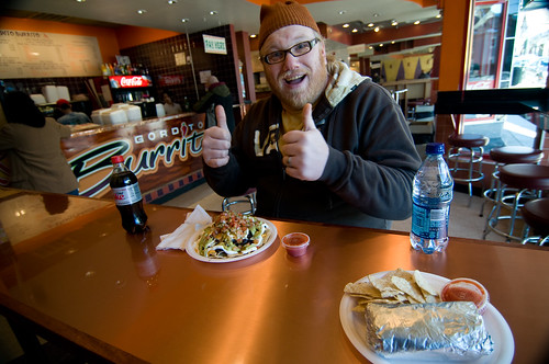Jim's nachos @ Gordito Burrito