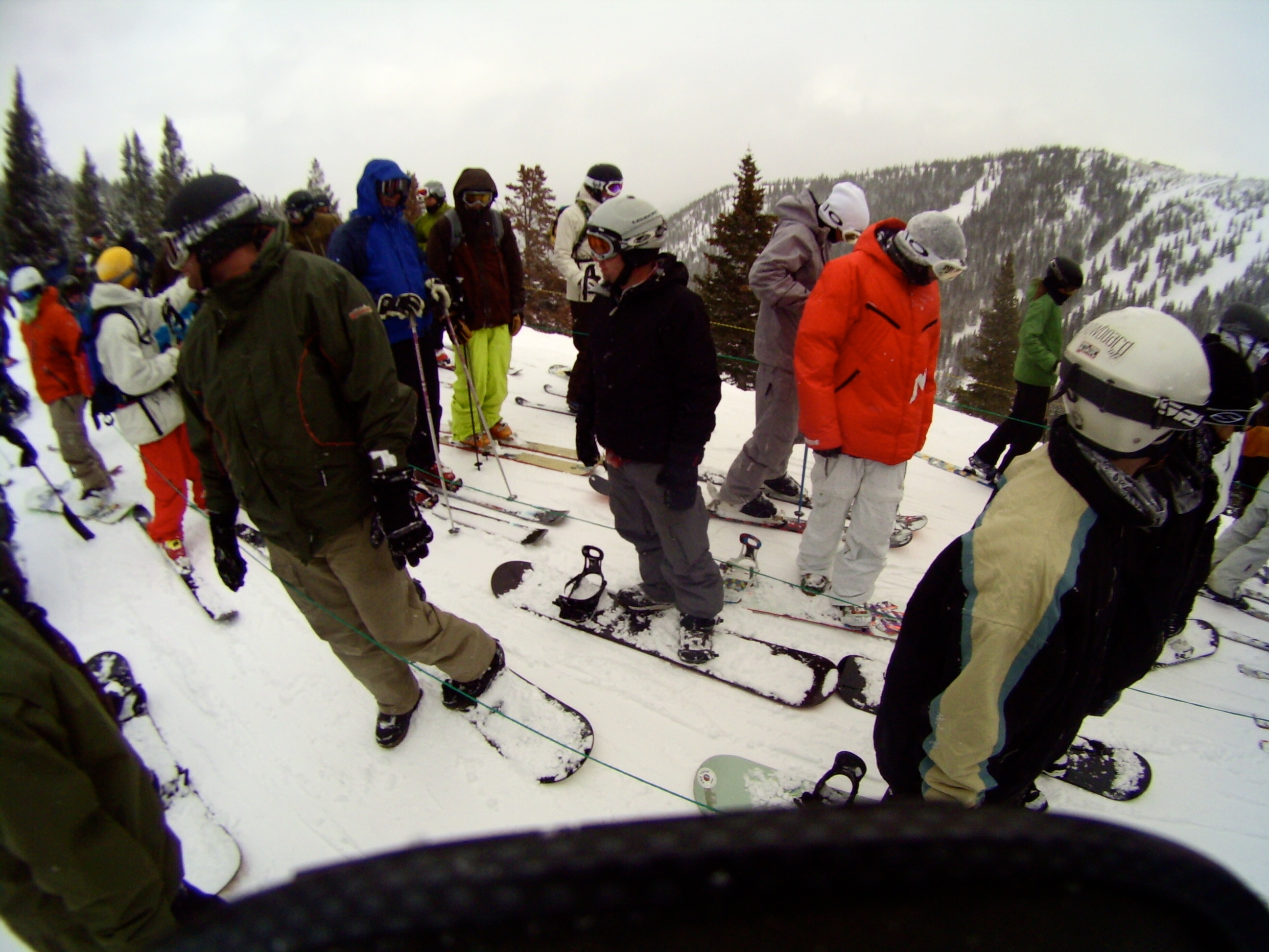 Breckenridge - GoPro Helmet Hero Wide camera test