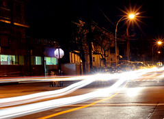20 Seconds (stacymagallon) Tags: longexposure cars night speed long exposure driving slow stacy shutter magallon