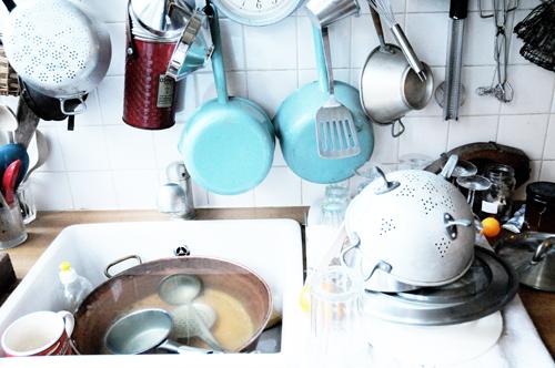 dans la cuisine de Marielle