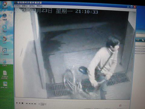 偷车监控录像曝光 - 30秒,一睹偷车贼庐山真面目 8 by you.