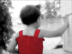 Childhood (Areen Natsheh) Tags: red white black childhood
