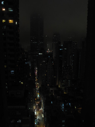 Hong Kong during Earth Hour