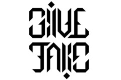 ambigram for 'give/take' (matthewmcinerney) Tags: design type ambigram tyography