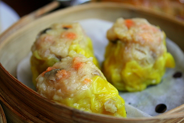 Chicken-shrimp siew mai