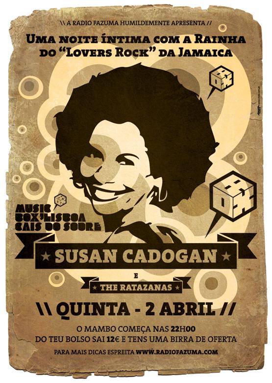 Susan Cadogan - Flyer