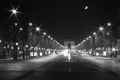 Champs Elysées at 1:30 a.m