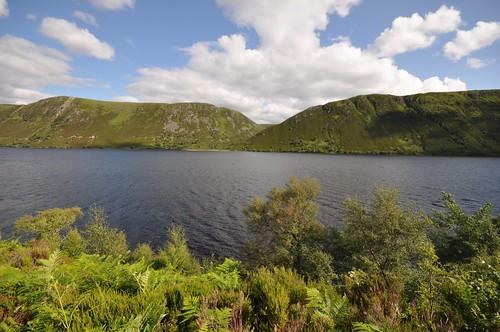 Creag Bhiorach across Loch Muick