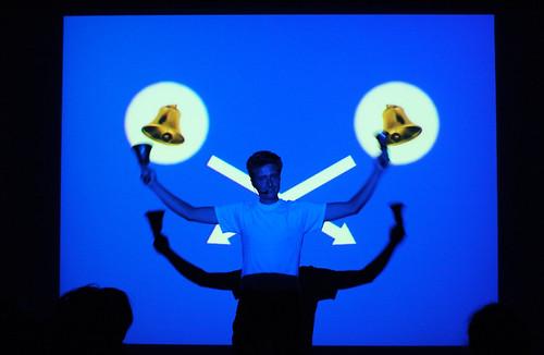 Kevin Bewersdorf performing PureKev at Perform for People .1