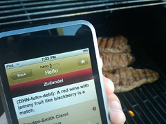 Zinfandel Food Pairings on the Hello Vino iPhone app