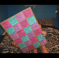 here'stothekids (A.J. Poquette) Tags: world party love alex kids notes sticky free andrew quotes pete postits mcmahon wentz gaskarth