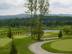 "GOLF COURSE - ""THE GREENBRIER"" - WHI..."