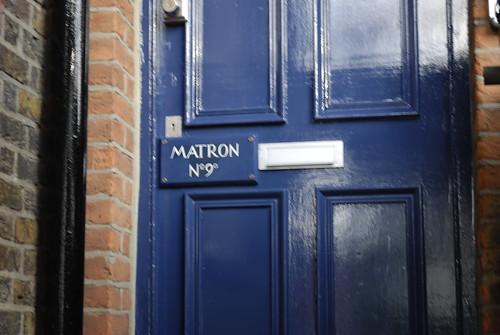 Ooooh, Matron