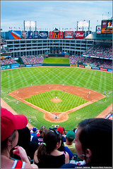 The View from Section 326 (Rich Anderson) Tags: arlington texas baseball redsox rangers 2009 d90 stadiumview nikkor18200mmf3556vr rangersballparkinarlington d90testshots