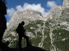 Dolomiti, Val di Gares - Lungo il Viaz del Bus
